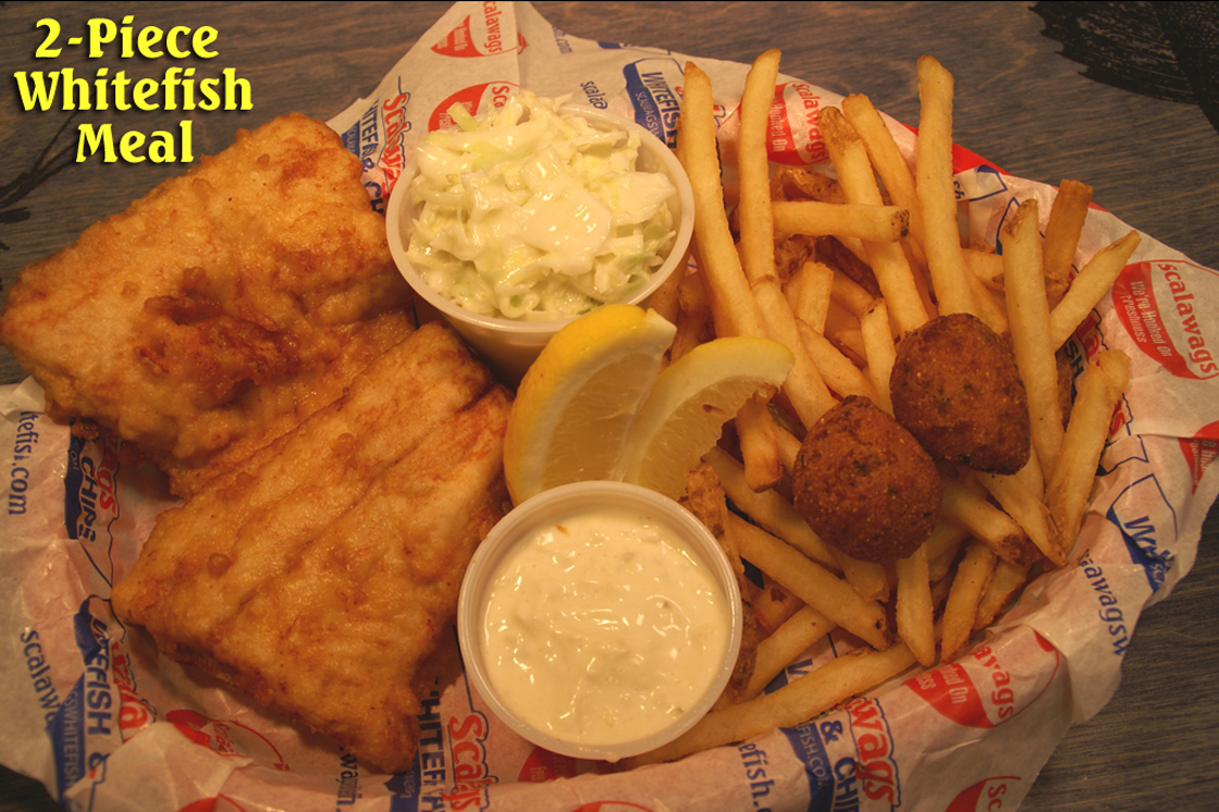Freshwater fish and chip shop - Mackinaw City Whitefish