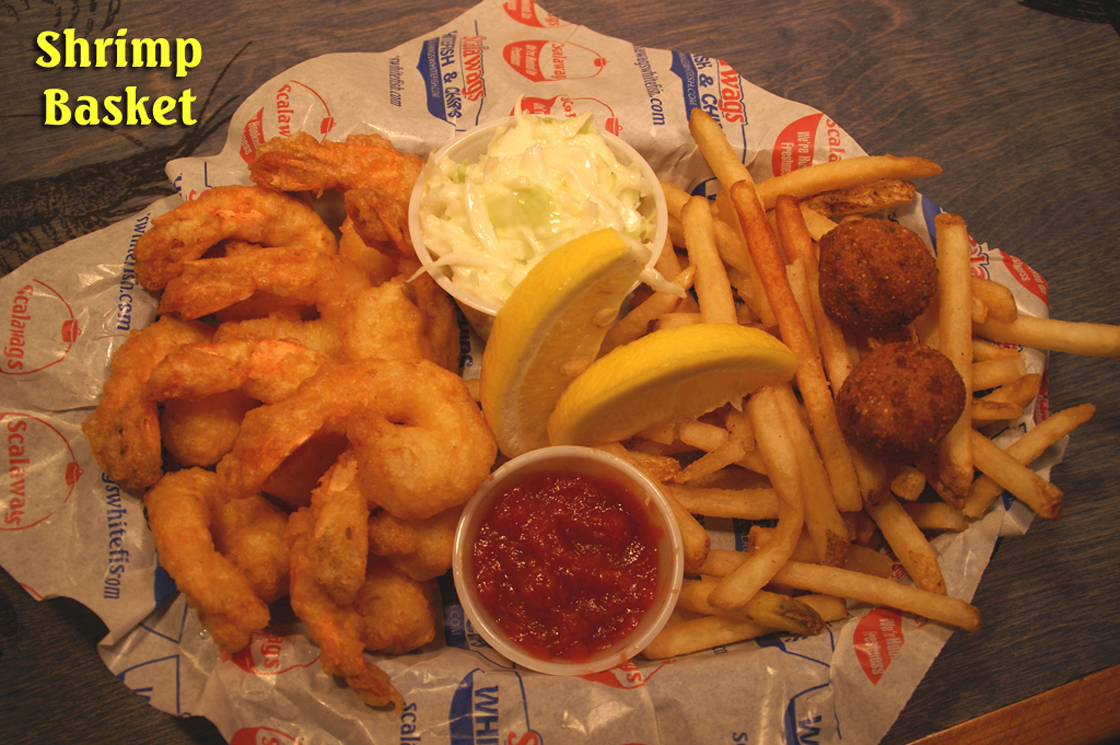 Shrimp, Perch and Seafood in Mackinaw